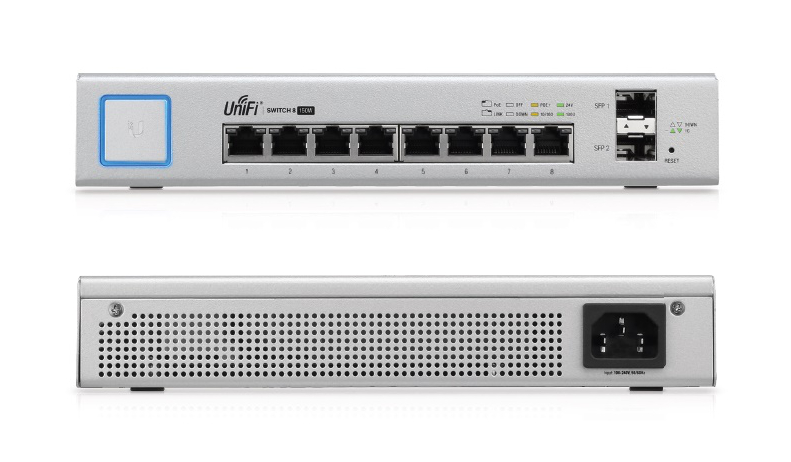 UniFi Switch 8 port (US-8-150W)